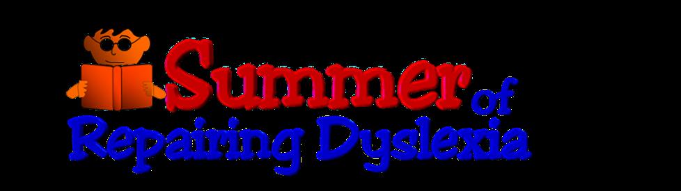 Summer of Repairing Dyslexia